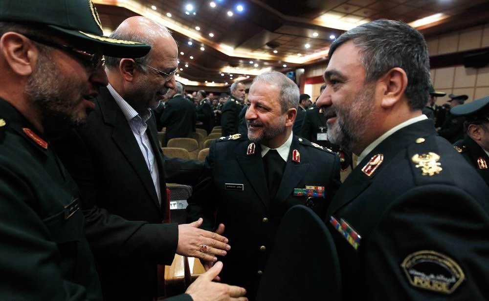 روزی که سردار احمدی مقدم از نیروی انتظامی رفت و سردار اشتری آمد