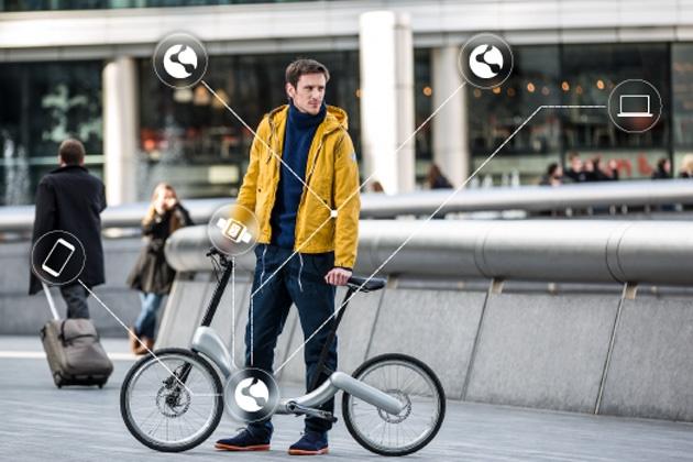 چنین دوچرخه هوشمند تاشوی برقی را تابهحال دیدهاید؟