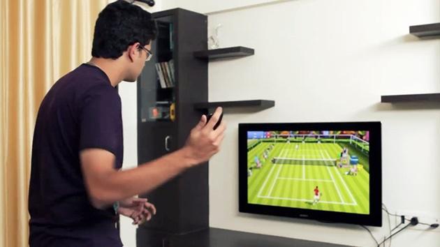 تبدیل موبایل اندرویدی به راکت تنیس!
