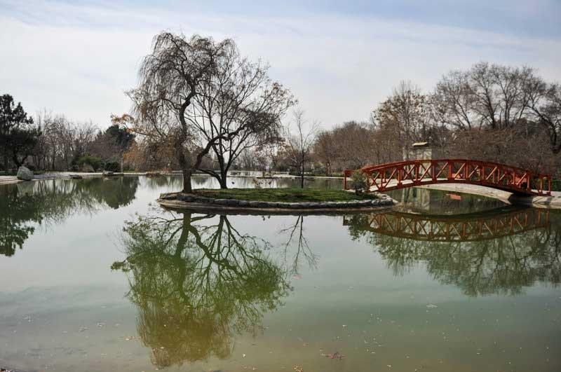 باغ ملی گیاه شناسی تهران