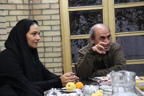 کمال تبریزی و شبنم مقدمی در کافه خبر/ در «ابله» تن به ابتذال ندادیم