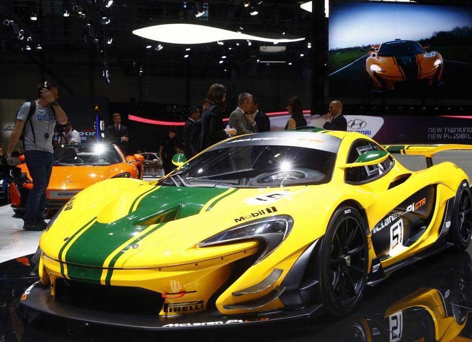 نمایشگاه خودرو ژنو 2015