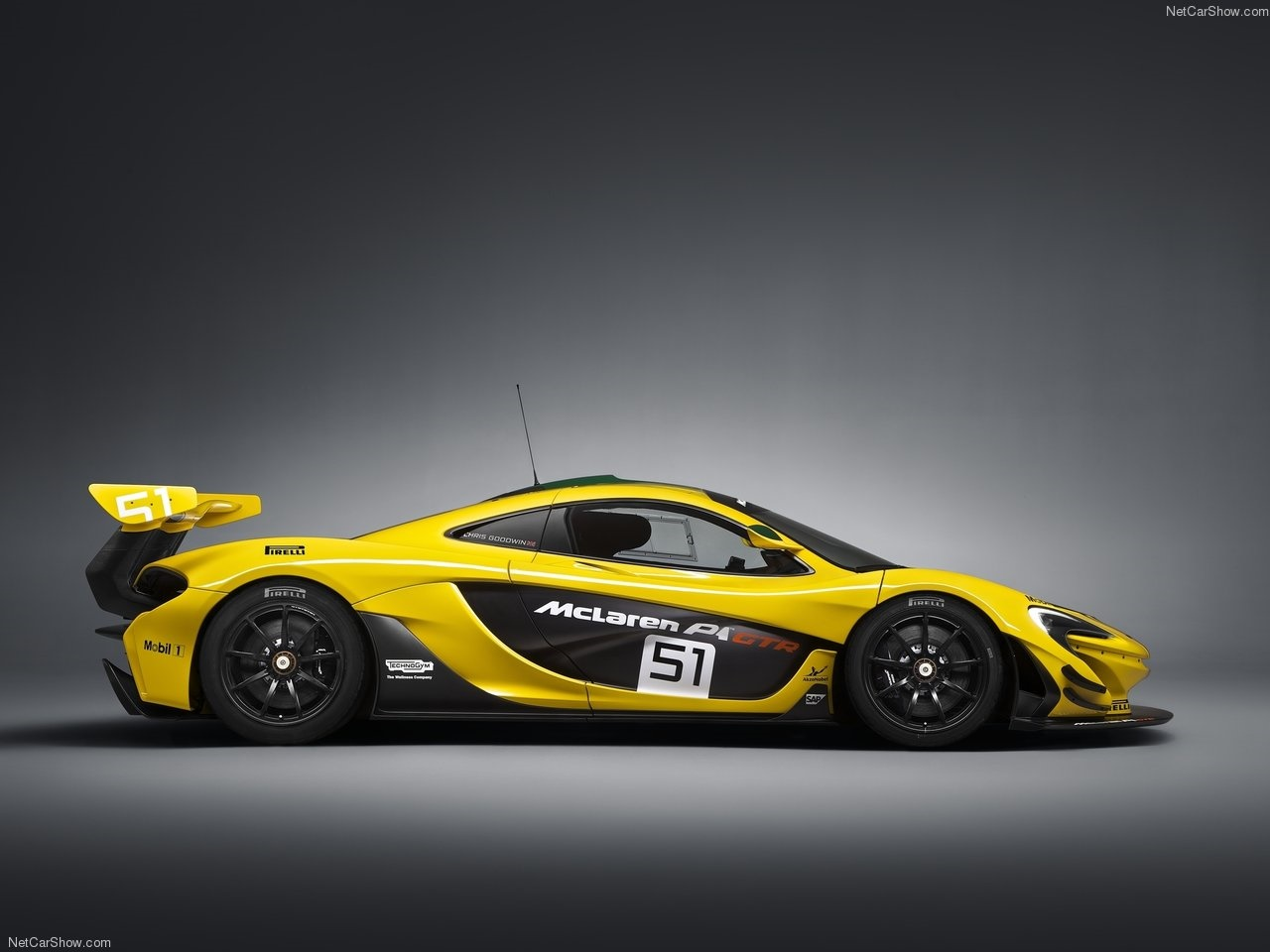 خودروی 3,000,000 دلاری مکلارن P1 جی.تی.آر با 986 اسببخار قدرت