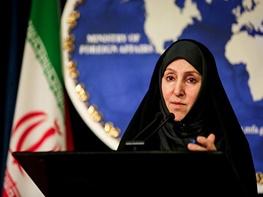 جزایر سه گانه ایران, سخنگوی وزارت امور خارجه