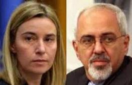 مذاکرات هسته ایران با 5 بعلاوه 1, محمدجواد ظریف, فدریکا موگرینی
