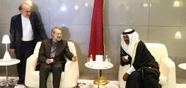 ایران و قطر,علی لاریجانی