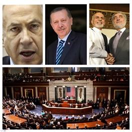 اشرف غنی احمدزی,عبدالله عبدالله,بنیامین نتانیاهو,کنگره آمریکا