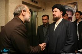 سید حسن خمینی,سیدصادق طباطبایی,علی لاریجانی