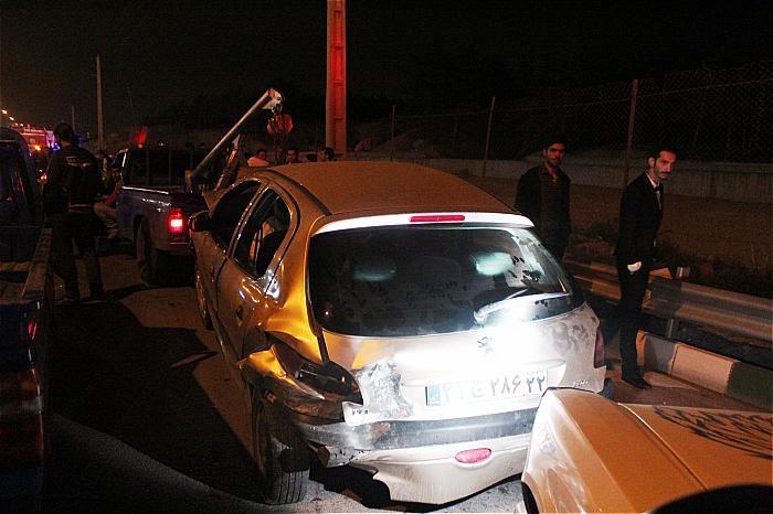 حوادث تهران تصادف خودرو عروسی اخبار تهران