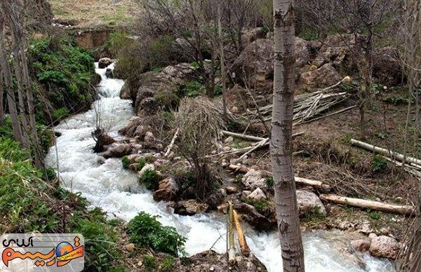 آبشار نره گر روستای اسبو؛بهشتی در دل خلخال