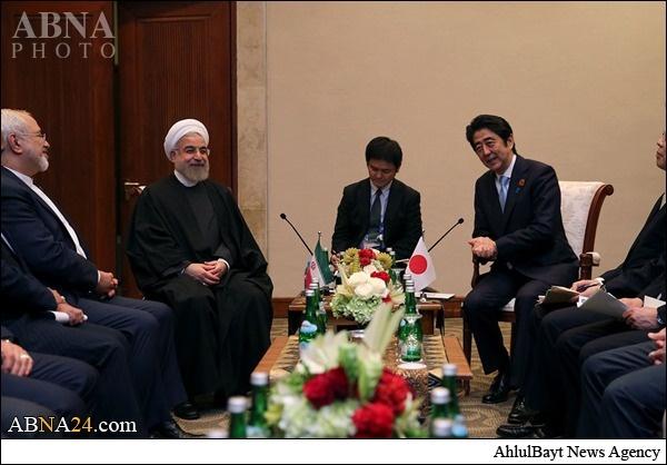 حسن روحانی,ایران و ژاپن