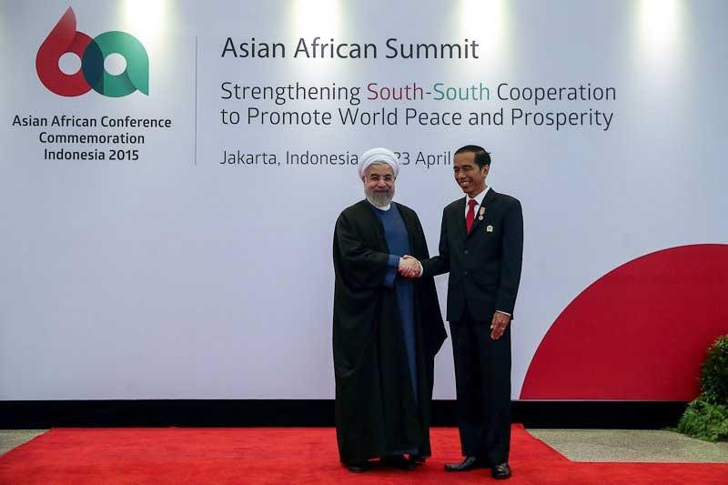 آغاز اجلاس سران کشورهای آسیایی و آفریقایی در اندونزی