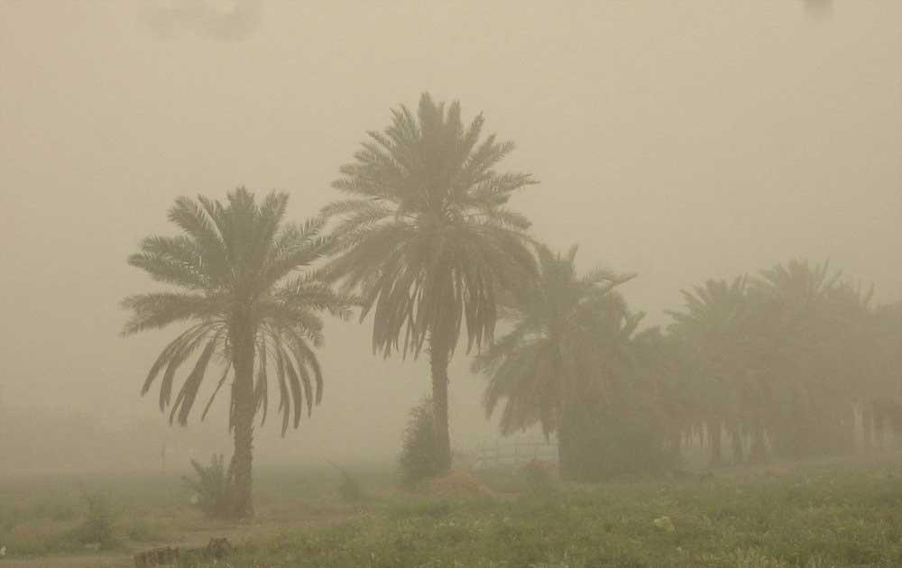 هشدار هواشناسی درباره طوفان گرد و خاک در جنوب غرب کشور