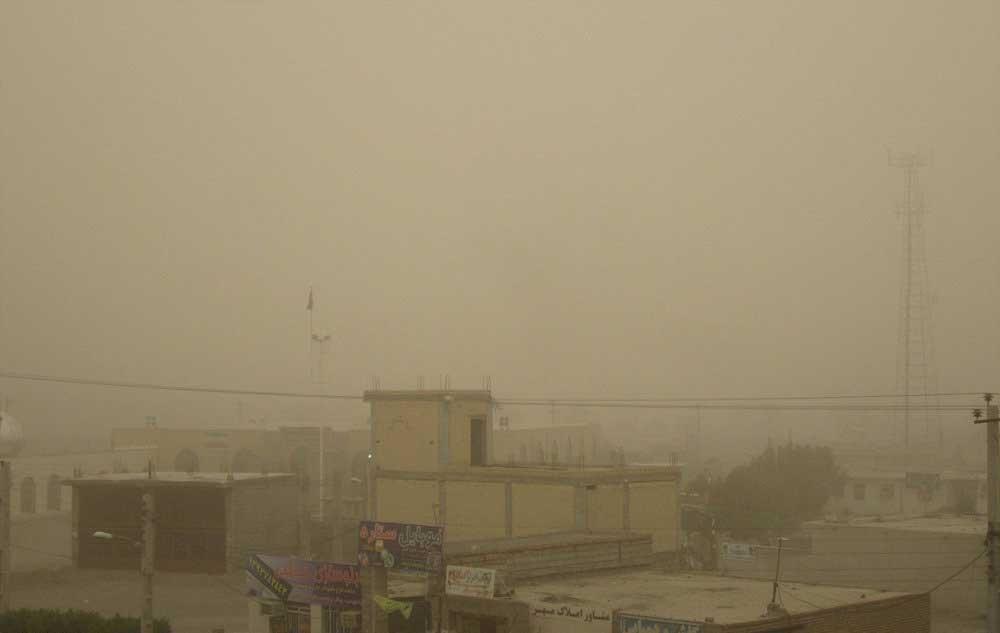 ریزگرد مدارس شهرستان مهران را بست