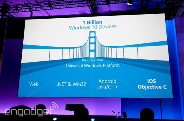 تحول بزرگی که ویندوز 10 برای اندرویدی ها و اپلیها به ارمغان میآورد