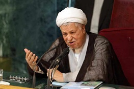 جبهه پایداری,اکبر هاشمی رفسنجانی
