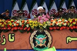 ارتش جمهوری اسلامی ایران,حسن روحانی