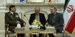 ایران و سوریه,علی لاریجانی