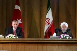 ایران و ترکیه,حسن روحانی,رجب طیب اردوغان