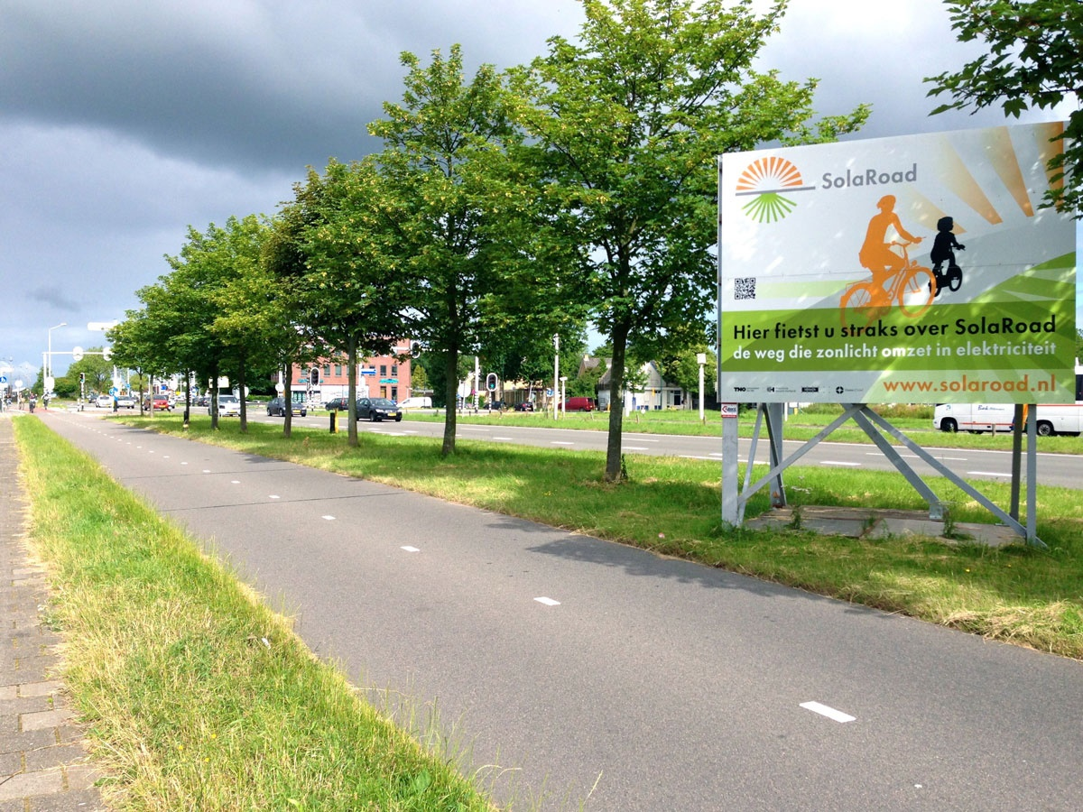 اولین جاده دوچرخه سواری تولید برق در هلند را ببینید