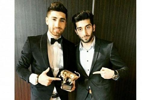 گاو طلایی جایزه ای که به بهترین لژیونر ایرانی رسید