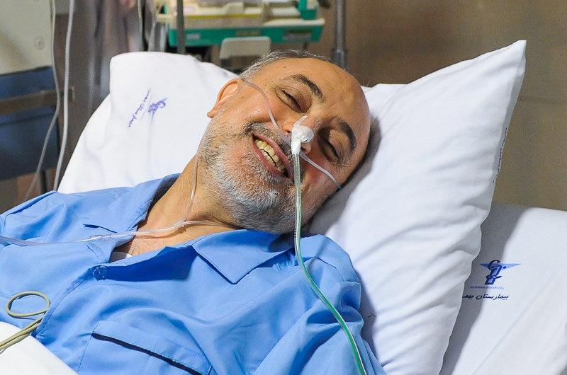 هیات دولت در بیمارستان بهمن / روحانی به عیادت صالحی رفت