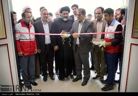 افتتاح مراکز اداری امدادی هلالاحمر در استان کرمانشاه