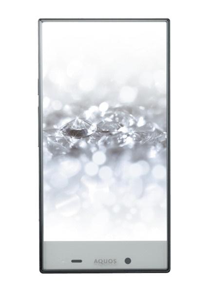 گوشی ضد آب و از سه طرف بدون لبه شارپ را ببینید