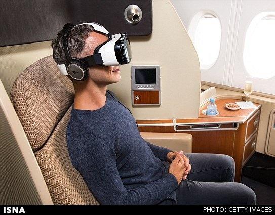 هدستی برای از بین بردن احساس تهوع در طول پرواز