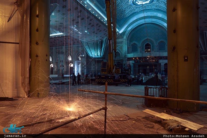 تصاویری از صحن جدید حرم امام خمینی(ره)