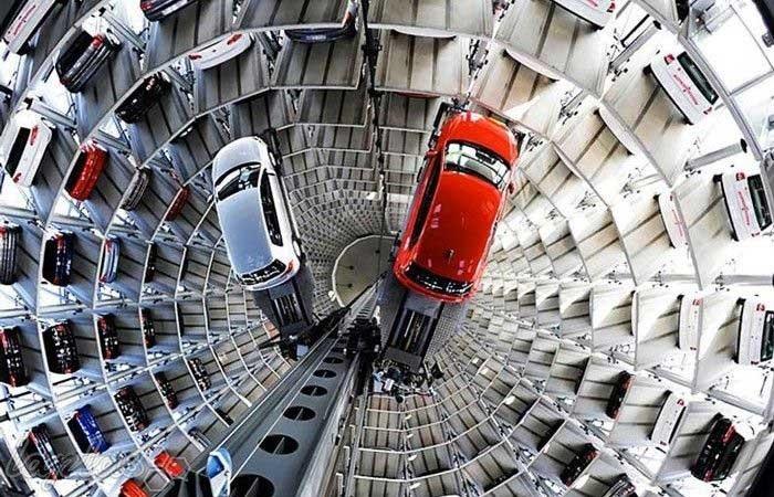 پارکینگ طبقاتی اتو استادت
