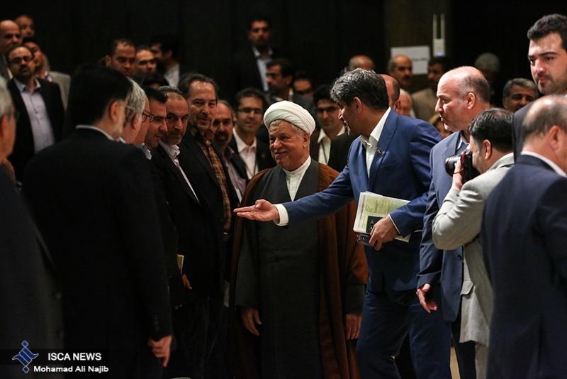تصاویری از کنگره بین المللی هپاتیت تهران با حضور آیت الله هاشمی رفسنجانی