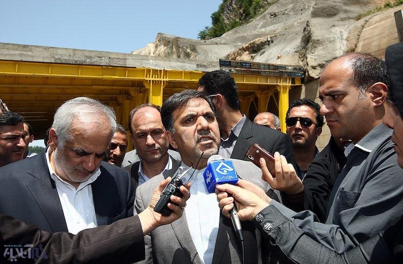 آخرین وضعیت آزاد راه تهران- شمال به روایت وزیر راه/آخوندی: شرکتهای ایرانی آزادراه را تکمیل می کنند