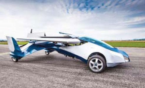 خودروهای سال 2017 پرواز میکنند