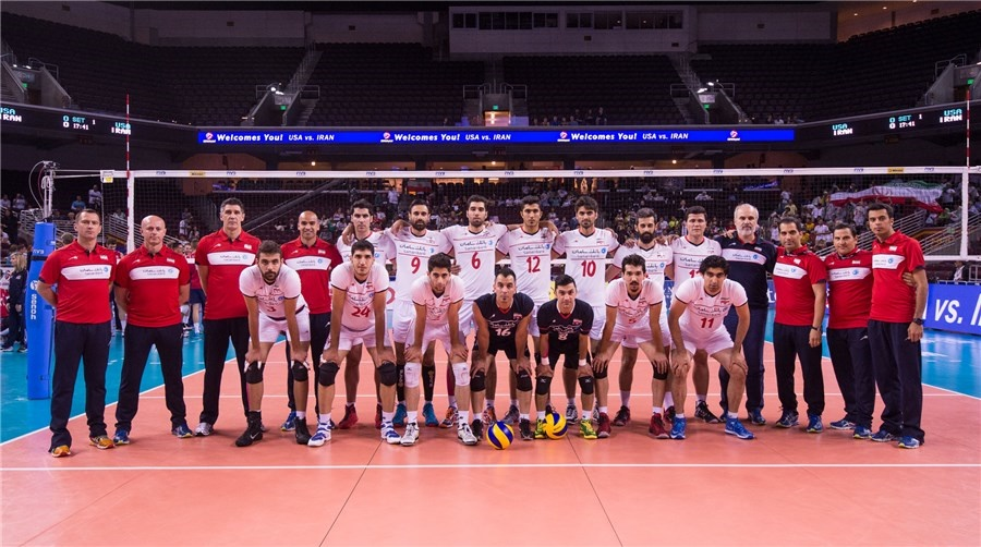 شکست تیم ملی والیبال در رقابت نخست برابر آمریکا/ ظریف که آمد تیم شدیم!