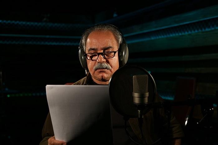 تصویری از حرف زدن پرویز پرستویی برای مستند ناصر حجازی