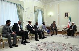 حسن روحانی,ایران و آفریقا