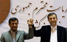 اسفندیار رحیم مشایی,محمود احمدی نژاد