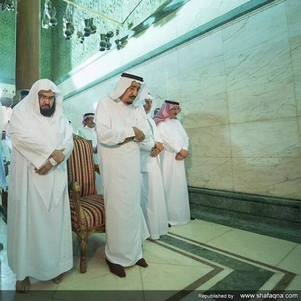 سلمان بن عبدالعزیز آل سعود,مکه مکرمه,کعبه