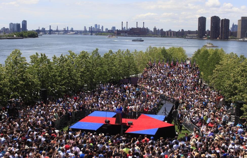 هیلاری کلینتون,انتخابات آمریکا