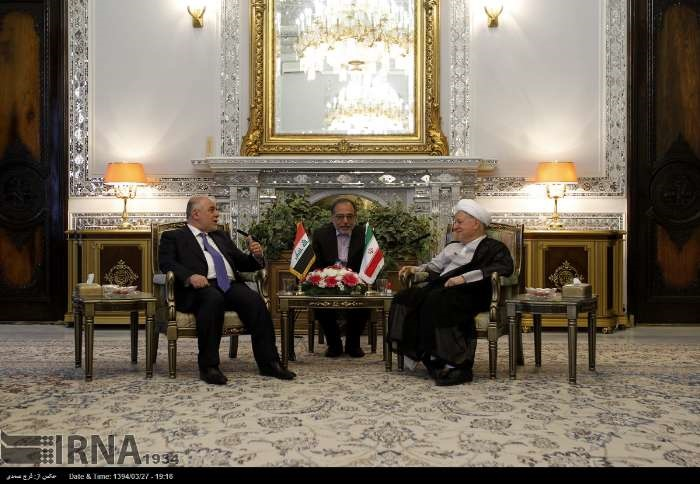 حیدر عبادی,ایران و عراق