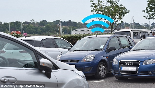 با این وسیله جالب و شگفتانگیز برای یافتن خودروری پارک شده اذیت نمی شوید!