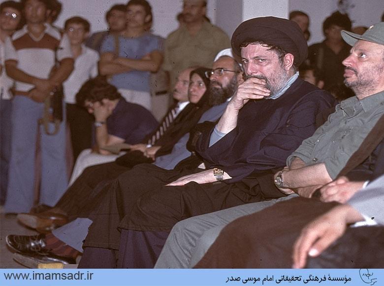 تصاویری از مراسم خاکسپاری و چهلم دکتر شریعتی در دمشق و بیروت