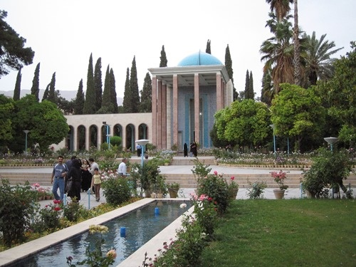 آرامگاه سعدی؛ 200 سال پیش / تصویر