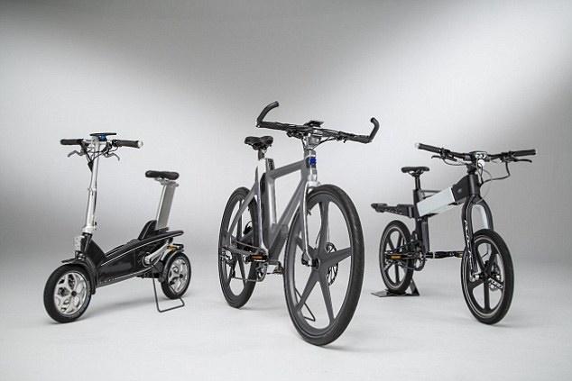 دوچرخه محشری از فورد / عکس