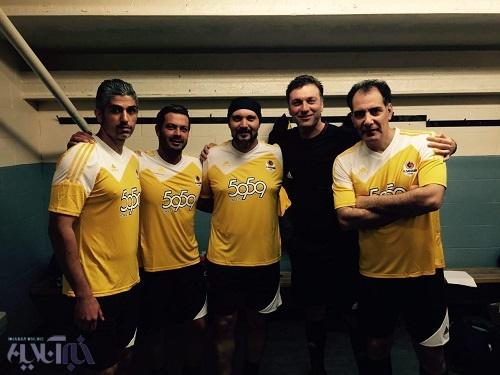 تصویری از این هنرپیشه های فوتبالیست!