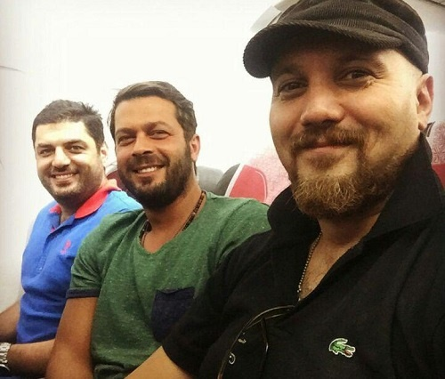 کامبیز دیرباز و پژمان بازغی برای یک مسابقه فوتبال به ترکیه رفتند!