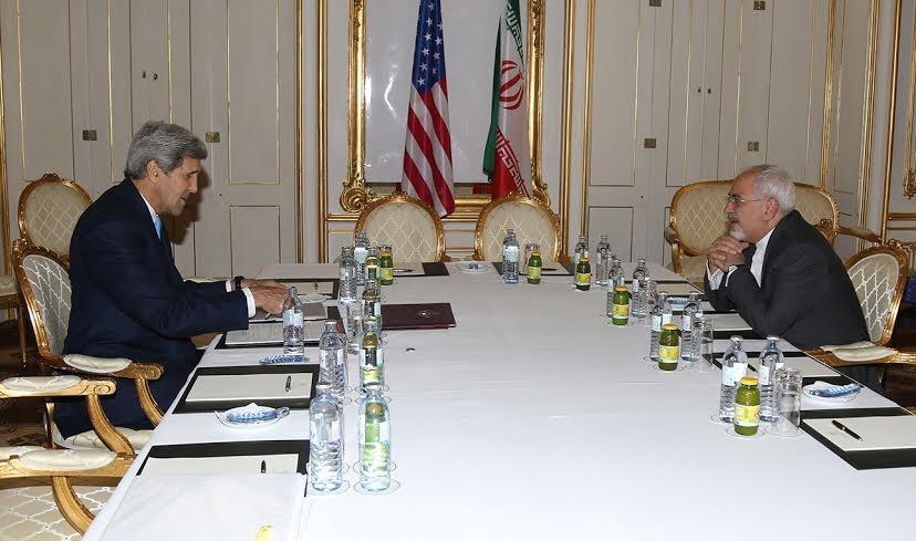 مذاکرات هسته ای ایران با 5 بعلاوه 1,محمدجواد ظریف,جان کری