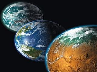 نخستین خشکی زمین چهوقت از آب بیرون آمد؟