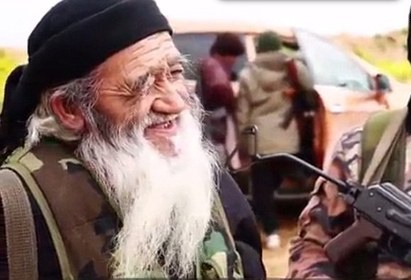 پیرترین عضو داعش